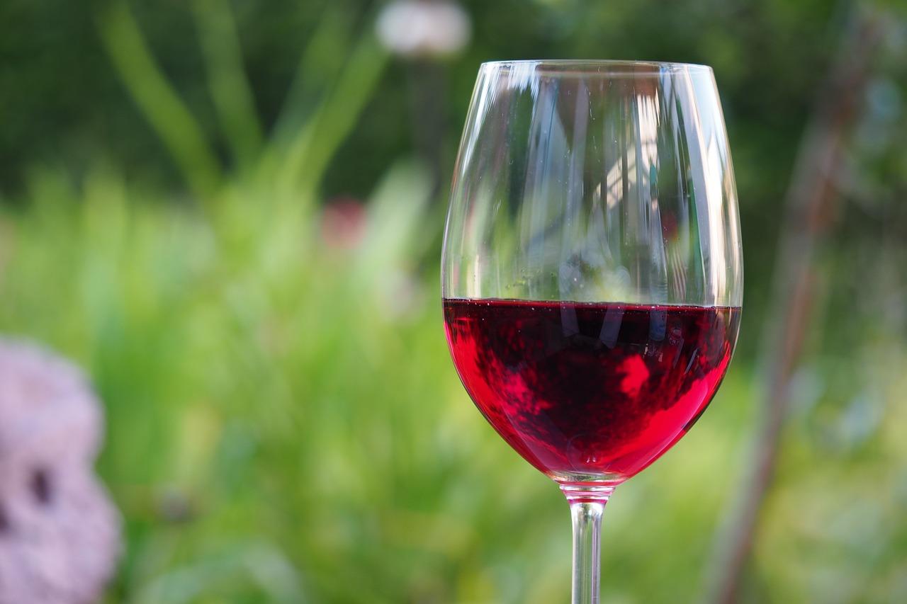 czerwone wino zamiast siłowni